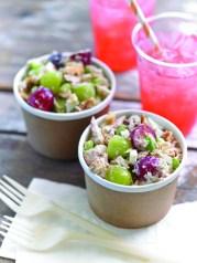 Tuna Salad with Grapes and Lemon Tarragon Dressing