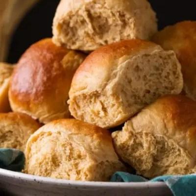 Honey Whole Wheat Rolls