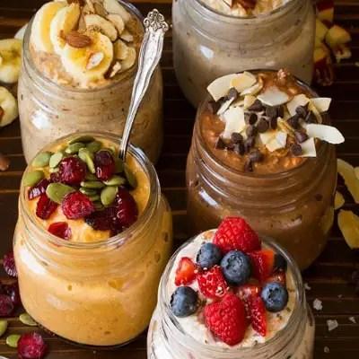 Overnight Oats Five Ways Recipe