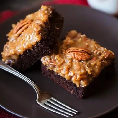 Best German Chocolate Brownies