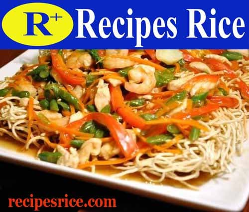crispy noodles recipe