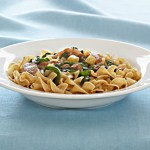 Noodles with Pork Tenderloin and Apples