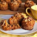 Gluten Free or Paleo Banana Raisin & Nut Muffins