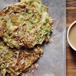 Okonomiyaki Japanese savory pancakes