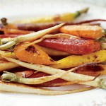Roasted Rosemary Caramelized Parsnips Carrots