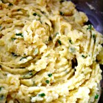 Mashed Cauliflower Garlic & Romano Cheese