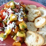 Spiced Tropical Bruschetta