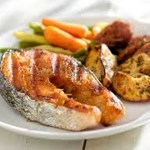 Roasted Salmon Potatoes Carrots