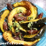 Sweet & Spicy Rosasted Kabocha Squash