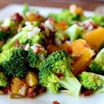 Broccoli Mandarin Salad