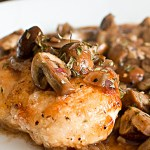 Parisian Chicken & Mushrooms