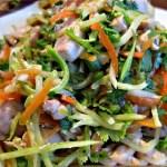 Zucchini Pad Thai Noodles