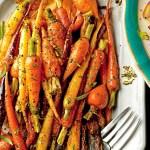 Orange Ginger Chile Glazed Carrots