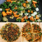 Kale, Butternut Squash, and Onion Frittata