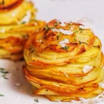 Parmesan Potato Stacks