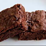 Low Fat Chocolate Zucchini Brownies_