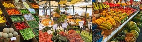 veggies & fruit market