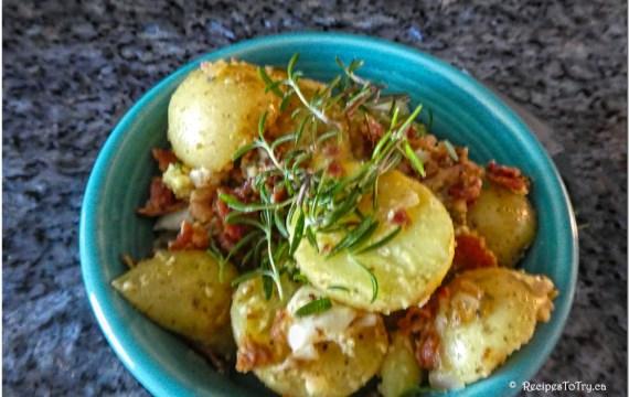 German Potato Salad for 2 ( Instant Pot )