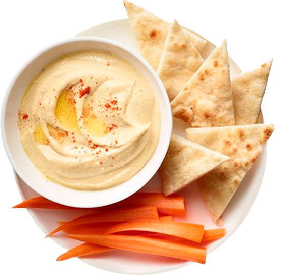 Break the Fast with Hummus