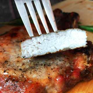 Oven Baked Bone-In Pork Chops