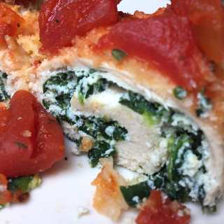 Stuffed Chicken Breast with Spinach and Ricotta