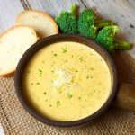 instant pot broccoli cheese soup recipe
