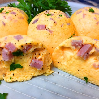 Instant Pot Ham and Cheddar Egg Bites Recipe.