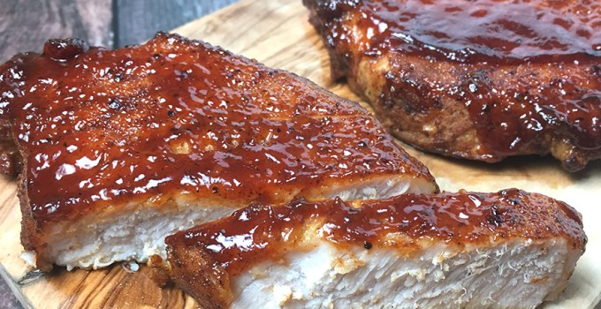 Instant Pot BBQ Boneless Pork Chops