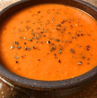 Instant Pot Creamy Tomato Basil Soup
