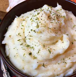 Best Damn Instant Pot Garlic Ranch Mashed Potatoes