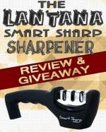 Knife Sharpener Giveaway | Enter your chance to win the same knife sharpener that we use in our kitchen!