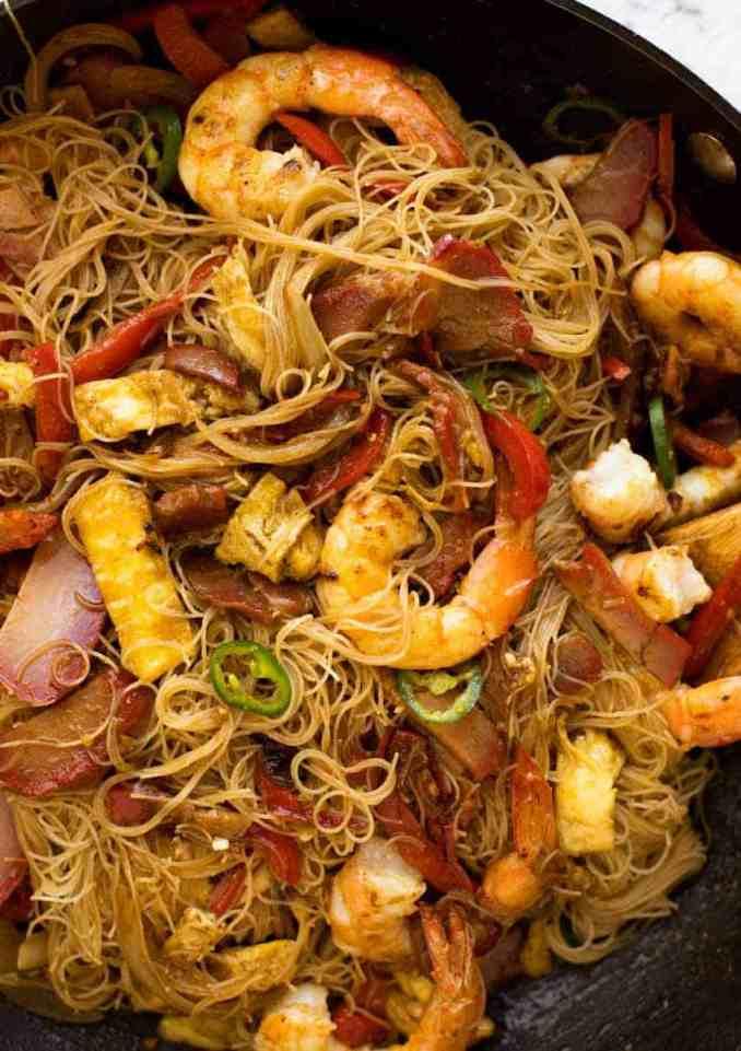 Singapore Noodles | RecipeTin Eats