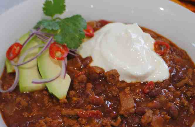 Smoky Chilli Con Carne