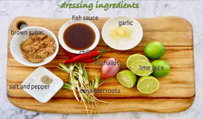 authentic thai beef salad dressing ingredients