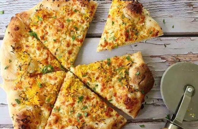 no knead pizza dough