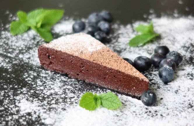 Chocolate Nemesis Cake - River Cafe