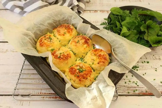 Easy Twice Baked Cheese Souffles