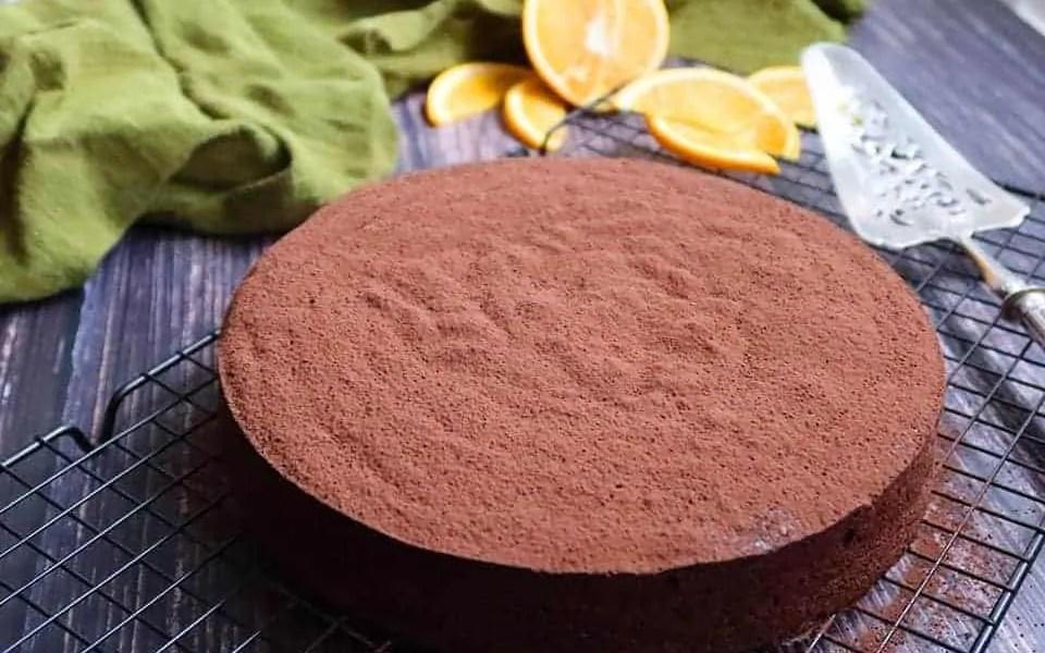 Flourless Chocolate and Orange Cake