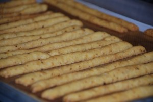 "Cheese ""straws"""