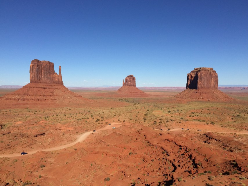 The Mittens and Merrick Butte Monument Valley