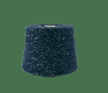 Fio Nm 1/12 PES/CO/WO 55/25/20% Azul com borboto