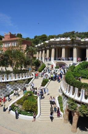 Escaliers du Parc Guell, Barcelone