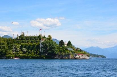 Palais des Borromées sur l'île d'Isola Bella, lac Majeur, Italie