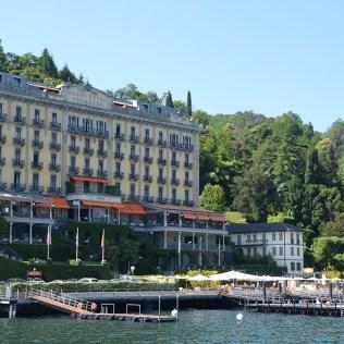 Grand Hotel sur le lac de Côme, Italie