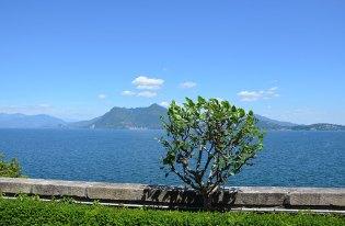 Vue sur le lac Majeur, Italie