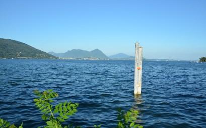 Sublime lumière sur le Lac Majeur en Italie