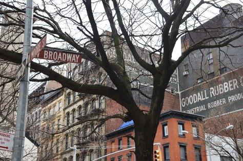 Panneaux de signalisation à New York
