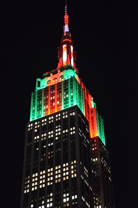 Empire State Building de nuit, New York