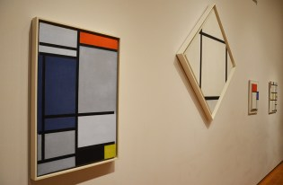 Toiles de Mondrian au Museum of Modern Art de New York