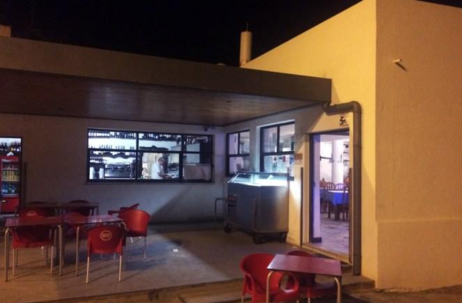 Entrée d'un restaurant de plage à Sintra, Portugal